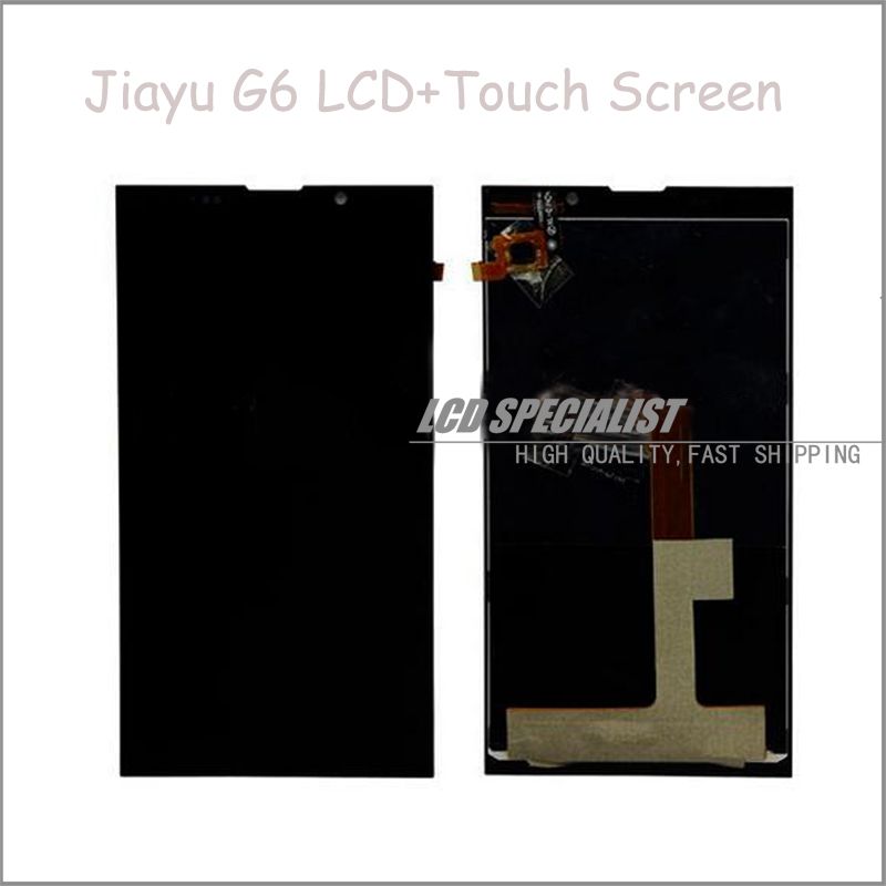 Black New Original For JIAYU G6 LCD Display+Touch Screen Panel Digitizer Full Assembly Repartment<br><br>Aliexpress