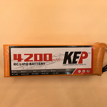 KEP RC Lipo Battery 22.2v 4200mAh 35C 6S Aircraft Helicopter/Drones Li-Polymer Batteria stand wear and tear manufacture factory(China)