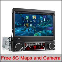Universal Quad Core Android Car DVD 1 DIN Car Video Player WIFI GPS Navi Handfree Call Car DVD Del Coche In-dash Android Car PC