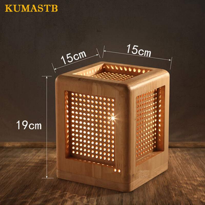 Wood Desk Lamp 6