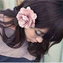 Chic Lady Girl Peony Flower Shape Hair Clip Hairpin Brooch Hair Accessories For Woman