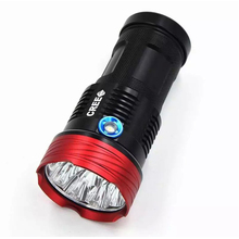 Brand New High Power King CREE-T6 Electric Torch Spotlight 8000 lm LED Flashlight Outdoor Hiking/Camping/Hunting Torch Light