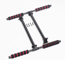 Carbon Fiber T-shape High Landing Gear Skid for RC FPV Quadcopter Multicopter Hexacopter S500 S550 F550 HML Quick Install