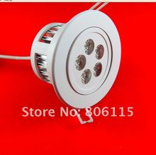 Free shipping (40 pcs/lot) Dimmable CREE LED downlight 15W 5*3W LED Recessed down lamps CE RoHS 2 years warranty