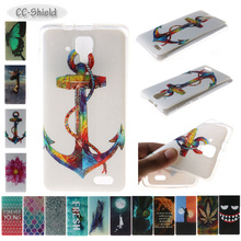 TPU Soft Fitted Case for Lenovo A536 A358 T A358T A358-T Luxury fashion Painting IMD phone case for Lenovo A 536 358T 358-T bag