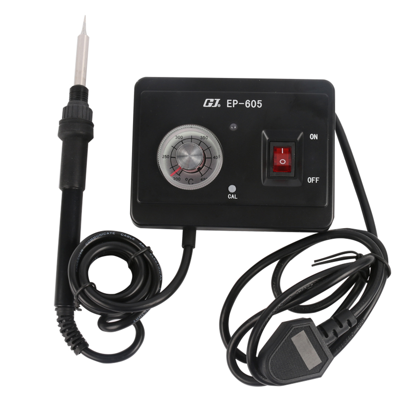 Best Sale 50W 220V EP Series Adjustable And Constant Temperature Soldering Iron Station EP-605 Repair Tools<br>