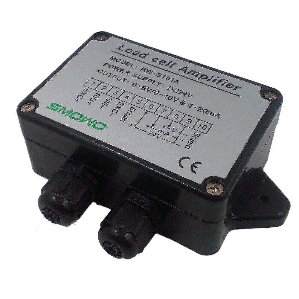 RWST01A Loadcell / Strain Gauge Amplifier, Dual signal output(0~5V&amp;4~20mA)<br><br>Aliexpress