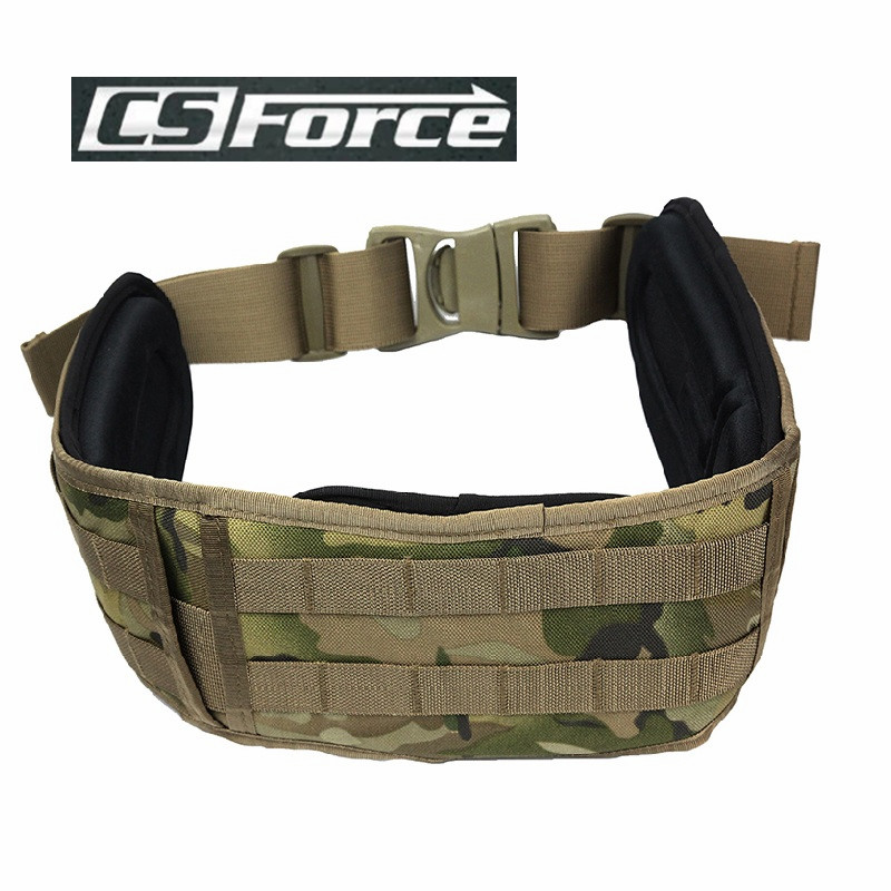 1000D Molle Adjustable Combat Belt with Padding Hunting Paintball Padded Belts Military Army Waist Support Tactical Waistband<br><br>Aliexpress