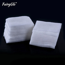 FairyGlo 200pcs Lint Free Wipes Gel Nail Polish Remover Wipes Napkins Gel Varnish Cotton Lint Pads Paper Nail Cleaner Wipes(China)