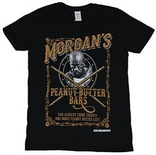 Different Colours High Quality The Walking Dead Mens T-shirt - Morgan's Peanut Butter Bars Logo Image
