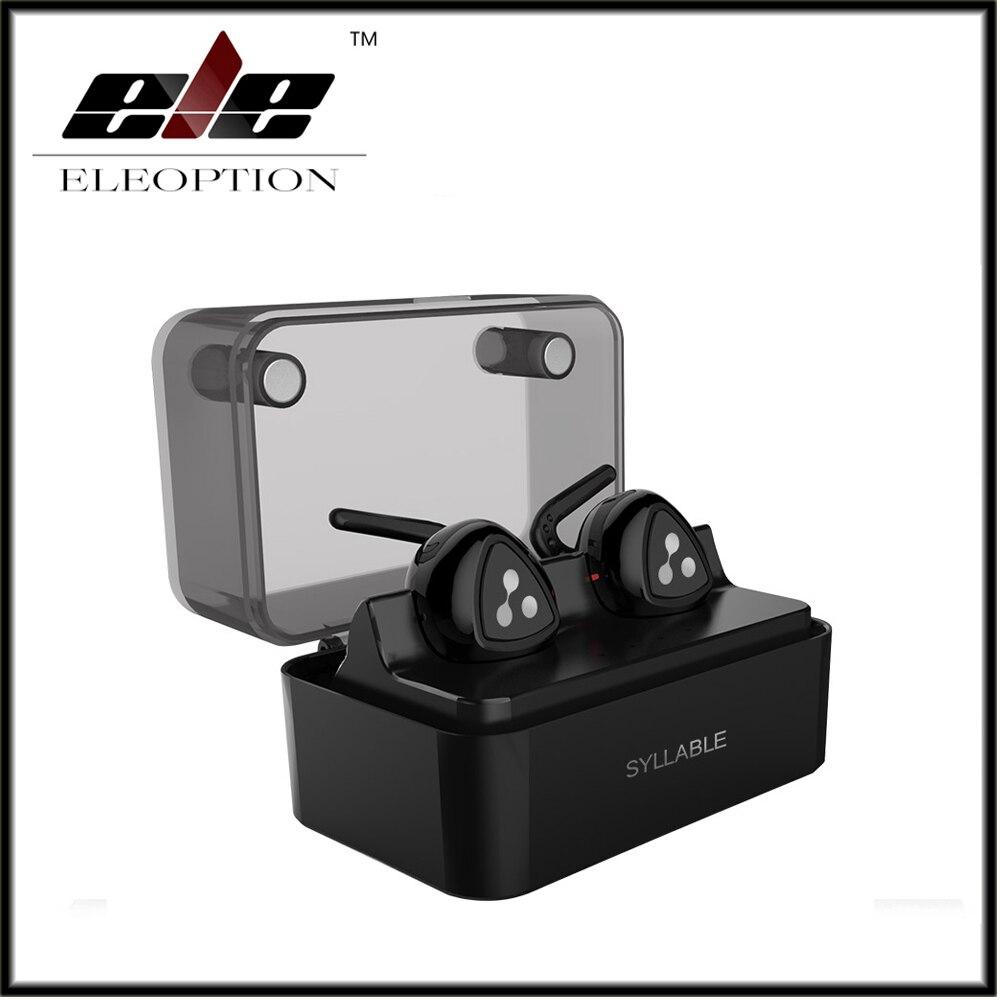 Original Syllable D900 MINI Double-ear Wireless Bluetooth Earphone True Wireless Technology Sport Earphone<br>