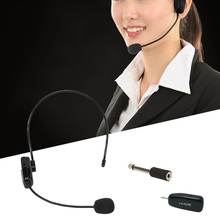 2.4G Wireless Headset Headphone Microphone Microfone Mic for Computer Laptop PC Phone Speech Conference Meeting Tour Guide