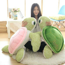 Cute sea turtle Plush Toys pink/green 30-90CM Plush sea turtle Doll Stuffed animals plush kids Doll Christmas present