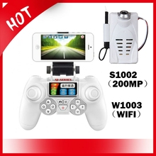 2MP 4GB FPV HD Aerial W1003 WIFI Mini Camera for X300-1 X300-2 T40 RC Quadcopter Drone(China)