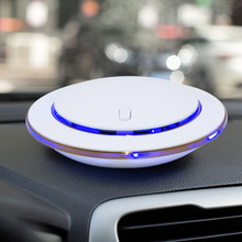 Intelligent Anion Air Purifier for Car Aroma Air Cleaner remove Formaldehyde Smoke Dust Air Freshener White /Black(China)