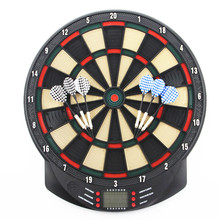 High Quality Electronic Dartboard Target Dart Game Set for Adult Playing Dart Game Fitness Equipment for Indoor Gameplaying