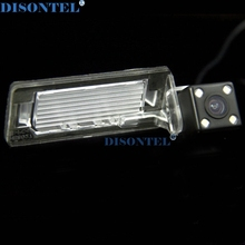 wired Wireless Transmitter reciever LEDS ccd parking camera for Audi A5 2011-2012 A4L Q5 2009-2012/Audi TT rearview camera(China)