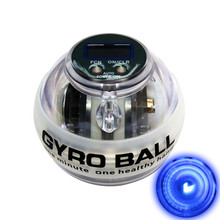 Resbo New Design Powerball Auto Start LED Counter Gyroscope Gyro Ball for Fitness Gym Sports Autostart Power ball for Beginner