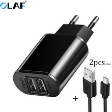 Buy Olaf USB Charger 5V 2.1A Universal Portable Travel Wall Charger Adapter Samsung IPhone Xiaomi EU Plug Mobile Phone Charger for $1.99 in AliExpress store