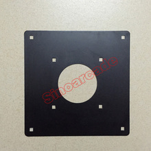"New 2 1/4"" Arcade Trackball Mounting Plate for PS/2 Trackballs MAME Arcade Game Machine Cabinet(China)"