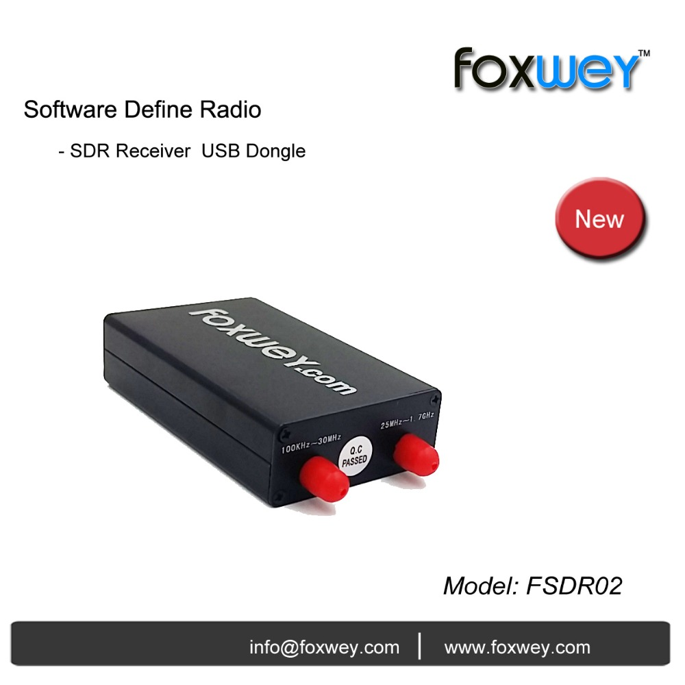 Affordable USB SDR dongle with SDR dongle software SDRSharp,HDSDR, QQPRX, easy SDR installation<br><br>Aliexpress