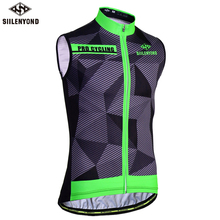 Buy SIILENYOND 2018 Jersey Clothes Sleeveless Cycling Jersey MTB Bike Wear Cycling Vests Men Bicycle Clothing Ropa Maillot Ciclismo for $13.99 in AliExpress store