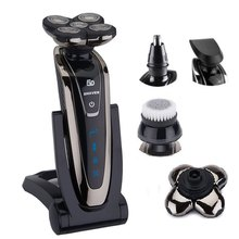 Original 5 blade Shaver Rechargeable Electric Shaver waterproof Electric Razor For Men 5D beard shaving machine grooming kit(China)