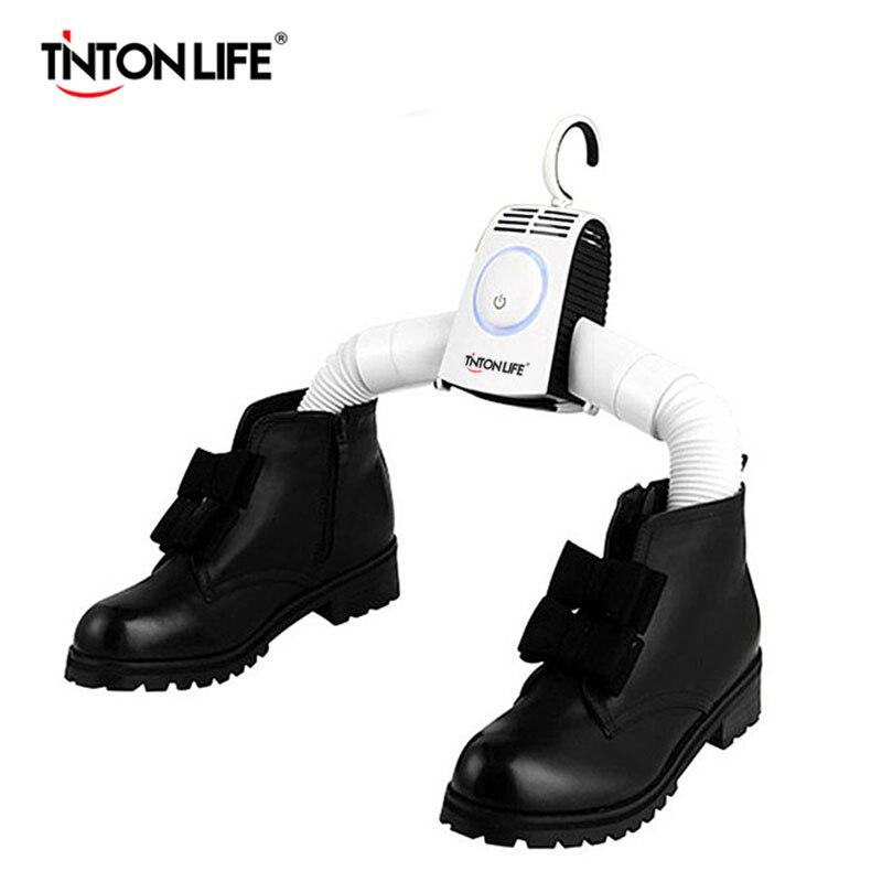 TINTON LIFE Portable Hang Dryer Clothes Traveling Dryer Shoes Dryer Available Clothes Hanger<br>