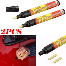 2pcs New Fix It Pro Mending Car Scratch Repair Remover Paint Pen Simoniz Clear Coat Applicator For Car Repair Tool Accessories