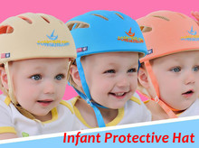 Outdoor sport toy Baby Safety Helmet Toddler Cap Baby Anti- Shock Hat Infant Protective Hat For Learning Walk & Size Adjustable