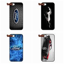 Ford Mustang GT Concept Logo Phone Cover Case For iPhone 4 4S 5 5C SE 6 6S 7 Plus Galaxy J5 A5 A3 S5 S7 S6 Edge