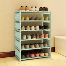 5 tier nonwoven shoe rack shelves simple living room home decorations debris storage