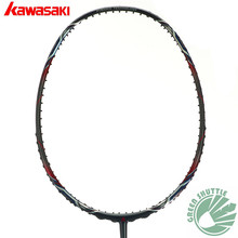 2017 Six Star 100% Genuine Kawasaki Mao 18 11 II Badminton Racket Professional Offensive Powerful Racquet The Best Quality(China)