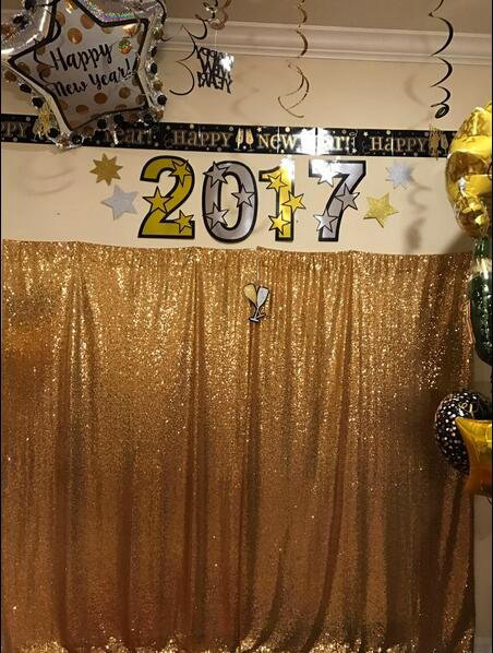 Gold Sequin Backdrop (15)