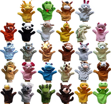 2015 New Funny Toys Holiday Sale Lovely Speaking Animal Puppet Kids Love Hand Puppet(China)