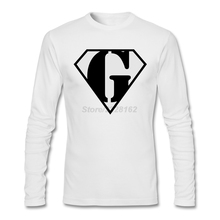 Super Muscle Man Body Builder - G Mens T Shirts Music creator Pink Tees for teenage Letter G Round Collar Homme T-Shirt