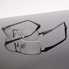 Toptical Half Rim Commercial Glasses frame Myopia Glasses Big Men Ultra-light big Plain Eyeglasses Frame Male(China)