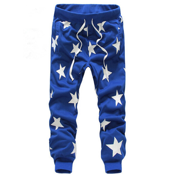 2017 Hot Star Printing Pants Men Military Camouflage Outdoors Trousers Fashion Brand Harem Hip Hop Pants