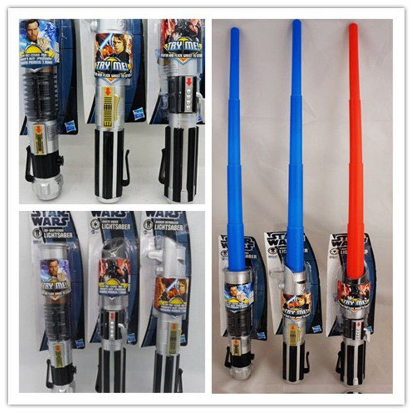 Star Wars Weapons Cosplay lightsaber &amp; no light sword Weapons PVC Action Figure Toys Christmas Gift for kids<br><br>Aliexpress