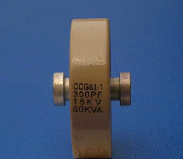 Round ceramics Porcelain high frequency machine  new original high voltage CCG81-1 300PF 15KV 60KVA  <br>