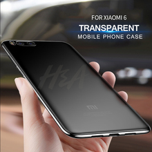 H&A Ultra Thin Soft Transparent TPU Case For Xiaomi Mi 5 6 5X 5S Plus A1 Case Cover For Xiaomi Mi 6 NOTE 3 A1 Phone Bag Case(China)