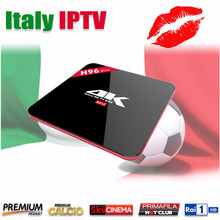 Buy Italy IPTV H96 Pro S912 Android 7.1 TV box LiveTV Iptv Portugal Albanian Europe Iptv French Smart tv Box Super Iptv Media Player for $99.20 in AliExpress store