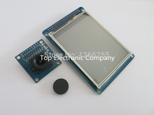 "Free Shipping 3.2"" TFT 3.2 inch LCD Disp Touch Panel PCB Adapter + CMOS Camera Module OV7670 SCCB"