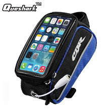 4.2/4.8/5.5 Inch Bike Frame Top Tube Bag Bicycle Bag Bicycle Accessories Touchscreen Mobile Phone Mountain Road Bike Bag