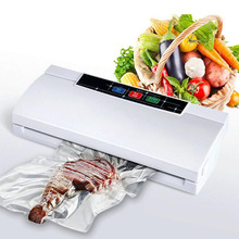 Glantop New Automatic Electric Vacuum Food Sealer Machine With All Size Vacuum Bag For Peanut Portable 220V/110W