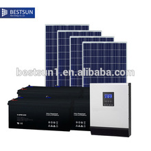 lighting kit protable mini solar power system home BESTSUN NBPS-4000M for home power supply(China)