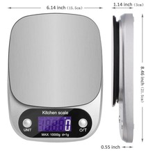 Buy 10kg /1g Mini Digital Kitchen Scale Food Diet Balance Weight Scale LED Electronic Cooking Scale Measure Tools Overload Promopt for $17.96 in AliExpress store