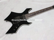 Wholesale Guitars Newest Black 7 Strings BC Rich Electric Guitar Best Free Shipping(China)