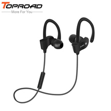 TOPROAD Wireless Bluetooth Earphones In-ear Sport Headphone Stereo MP3 Music auriculares Handsfree with Mic for Xiaomi Phones(China)