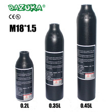 PCP Пейнтбол ВВС Airsoft цилиндр гПа M18x1.5 0.2L/0.35L/0.45L Air Bottle 6061 алюминий сплав бак 30MPa/300bar/4500psi(China)